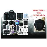 Kit Fotografico Profesional Nikon D5300