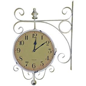 9e8543bc939 Relogio De Parede Retro Branco - Relógios no Mercado Livre Brasil