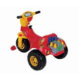 Triciclo Tico Tico Mecânico C/ Ferramentas - Magic Toys