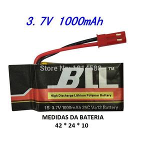 Bateria Lipo 1000mah 3.7v Feiyufy550,huajun,hj818,sky Storm.