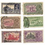 Lote Estampillas India Monumentos Importantes