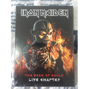 Iron Maiden The Book Of Souls Live Chapter Deluxe- No Brasil