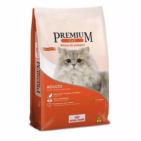 Ração Royal Canin Premium Cat Beleza Pelagem 10 Kg