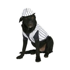 Traje Para Mascotas Jugador De Béisbol
