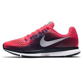 Zapatillas Nike Air Zoom Pegasus 34 Rosa Mujer