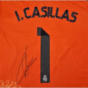 Jersey Autografiado Iker Casillas Real Madrid Portero Dragon