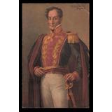 Postal Antigua. Simón Bolívar - R. Acevedo Bernal