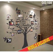 Adesivo Parede Arvore Fotos Família Exclusivo Oferta +brinde