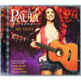 Cd Paula Fernandes 2010 - Pássaro De Fogo Ao Vivo (lacrado)