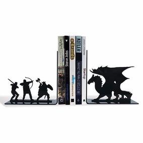 Aparador De Livros Dragão Terra Media Senhor Dos Anéis