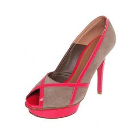 Zapato Tacon Plataforma Westies Prince Coral 24cm Envíograts
