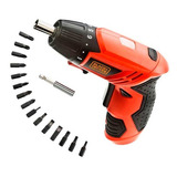 Destornillador Inalámbrico 4.8v 200rpm Black & Decker