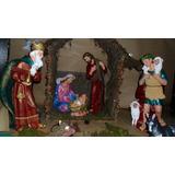 Pesebre Gigante ,navidad, Adorno Navideño, Papa Noel,.