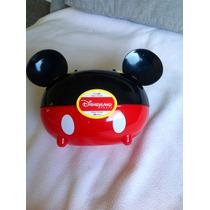 Lunchera Con Forma De Mickey De Plástico De Disneyland Paris
