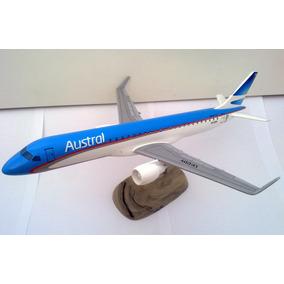 Maqueta Embraer 190 Austral Lineas Aereas