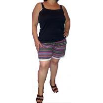 Shorts Modal C/lycra Talles Grandes! 6 Al 10 Sirenemoda