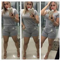 Roupas Da Moda Blusa Feminina Com Pedras Fique Linda !!
