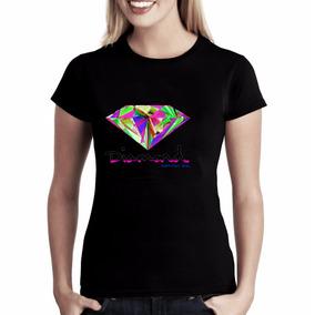 Camiseta Baby-look Diamond Primitive Grizzly Lrg Dgk Palace