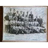 Foto Selección Argentina 1950 Autografiada Original