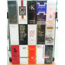 Kit 50 Perfumes Importados Contratípo Alta Fixação 50ml