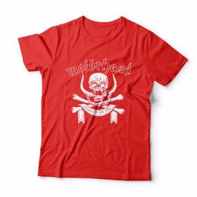 Camisa Blusa Camiseta Rock Motorhead Camisaria Lisboa