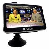Gps Foston 3d 473 Tv Digital E Câmera De Ré - Gps Atualizado