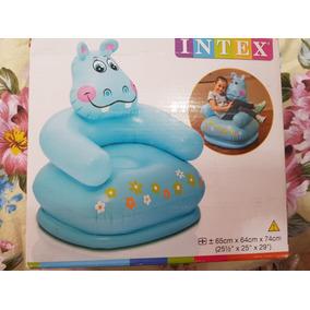 Sillón Inflable De Hipopotamo Para Niños Intex