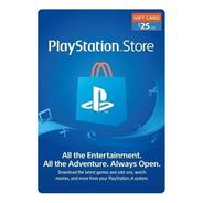 Psn 25 - Playstation Network 25 U$s [tarjeta Fisica] (usa)