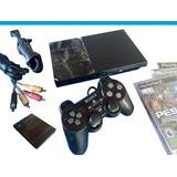Playstation 2, 100% Original+ Juegos + Chip + Memoria Y Más.