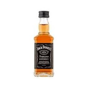 8 Unidades Jack Daniels Mini 50ml Vidro Original Lacrado