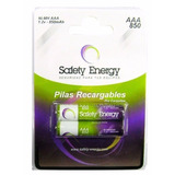 Pila Aaa 850mah Safety Energy Recargables Pack X2 - La Plata