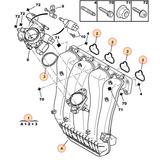 Multiple De Admision Peugeot 307 2.0 16v