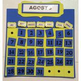 Calendario Mensual/anual Maestra Jardinera Primaria Jardin