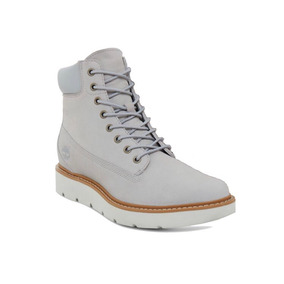 Timberland Kenniston 6in Piel Genuina Gris Dama Original!!