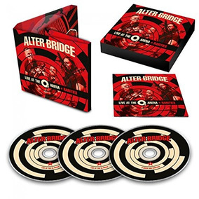 Alter Bridge - Live At The O2 Arena + Rarities [3cd] Lacrado