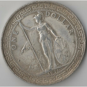 Moeda De Prata Dos Estados Unidos - One Dollar 1911