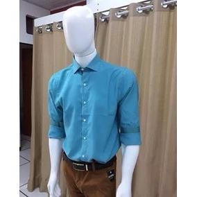 Camisa Slim Em Varias Cores Mista Frete Grátis