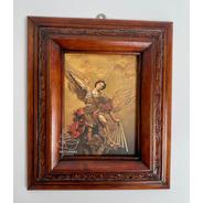 Cuadro San Miguel Arcangel C0004 Nogal
