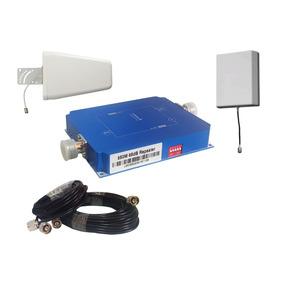 Antena Amplificador Señal Celular 3g, Cdma 65db Alto Poder
