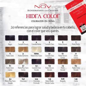 240 Tinturas Sachet + 240 Oxidantes + Carta De Colores