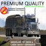 Lona Para Caminhão Anti-chama Premium Emborrachada 12x4,5 M
