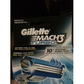 Gillette Cartuchos Match 3 Turbo + Paquete De Regalo