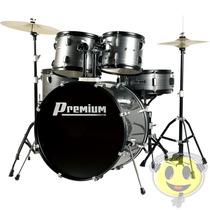 Bateria Musical Premium Dx722 Completa Si - Kadu Som