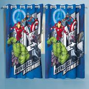 Cortina Avengers Assemble Os Vingadores 3,00 X 1,80 Lepper