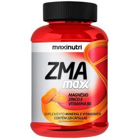 Zma Maxx 600mg 120cps Maxinutri # Estímulo De Testosterona