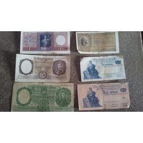 Billetes Viejos De La Republica Argentina