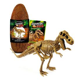 Jurassic Eggs - Ovo Jurássico Grande + Réplica De Dinossauro