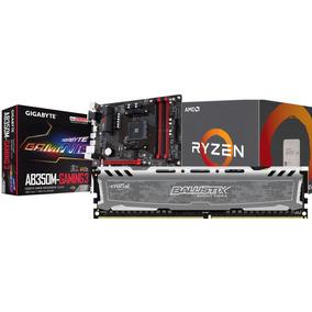 Kit Gamer Ab350m-gaming 3 Am4 + Ryzen 5 1600 + 8gb Ddr4