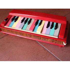 Organo Piano Retro 1960 Japon Juguete Vintage Deco !!!!!!!!!