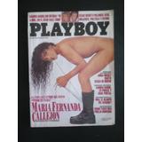 Revista Playboy - Nº 91 - Maria Fernanda Callejon